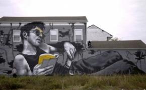 写实感的街头涂鸦