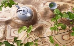 高山流水茶盘
