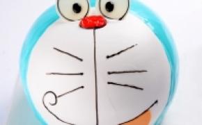 创意蛋糕的卡通设计