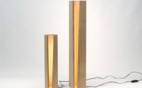营造自然光的橡木灯