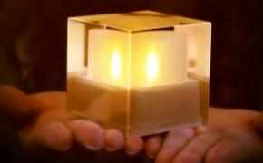 太阳能电子蜡烛灯