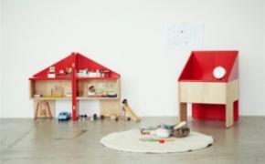 贴心的儿童玩具屋座椅