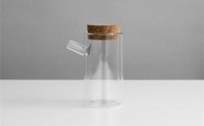 不烫手双层玻璃茶具