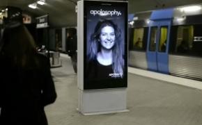 Apotek 地铁创意广告牌