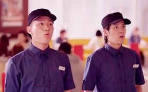 日本麦当劳创意招聘人才广告