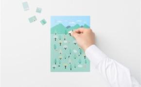 Sticker Calendar 四季日历