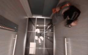 LG电视广告-电梯地板坠落