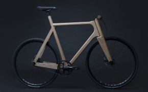 The Wooden Bike 实木减震单车