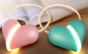 心锁台灯 为爱而生的LED灯
