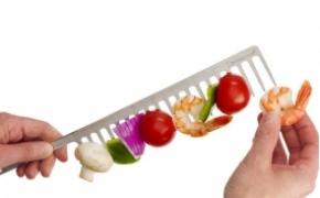 GrillComb 梳子样式的烧烤签