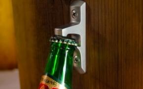 带磁性的固定开瓶器
