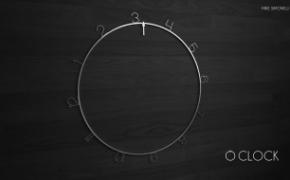 OClock 表盘旋转的创意挂钟